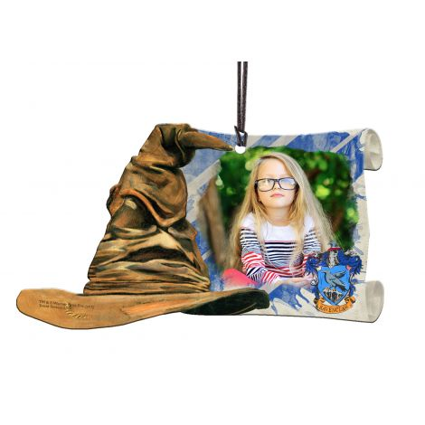 Harry Potter Ravenclaw Sorting Hat hanging acrylic decoration featuring a personalized image.