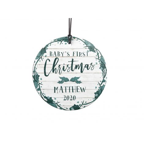 Personalize with baby's name and year!