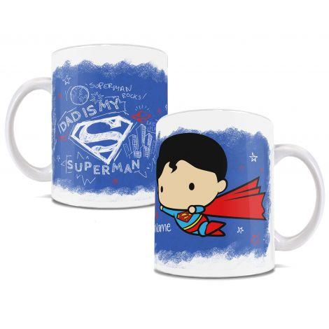 How adorable is this chibi Superman? How adorable is your dad? Are they basically the same person? We thought so.  Add your name to this ceramic mug to show your dad your super amount of love.