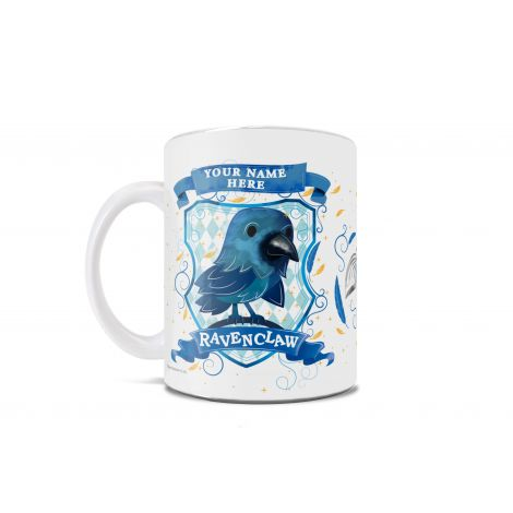 Ravenclaws are witty and wise. On this mug, they're also ridiculously precious.  Show your Ravenclaw pride in the cutest way possible, with an officially licensed Harry Potter mug.