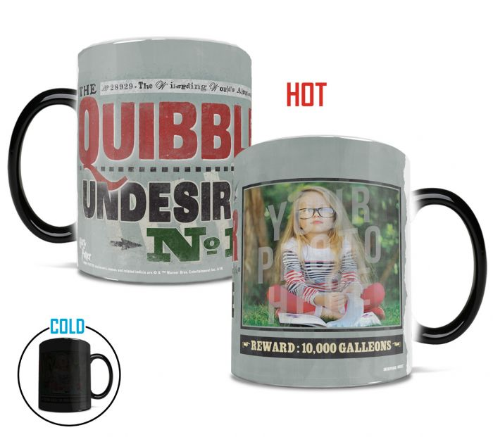 Harry Potter (Quibbler Upload) Morphing Mugs® Heat-Sensitive Mug